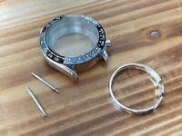 Watch case for ETA Valjoux 7750 swiss made movement - ceramic bezel - new -b