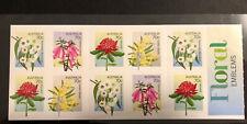 Australia 2014 Floral Emblems Set 7 Stamps. Sheetlet .Mint Never Hinged.