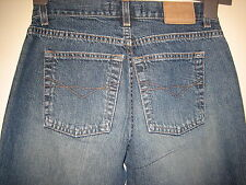 N17) WOMENS LOVELY BLUE RIVER ISLAND BOOTCUT  JEANS ZIP FLY  SIZE 8   LEG  28