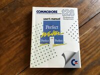 Commodore 128 Computer Professional Word processor Perfect Writer User's Manual