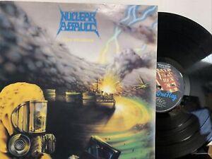 Nuclear Assault – The Plague EP 1987 Under One Flag – M FLAG 13 UK VG/EX
