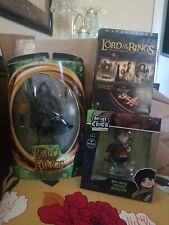 Mini Epics Frodo Baggins & Steider Figure + Lord of the rings Dvd box set
