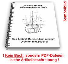 Flugdrachen Drachen selbst bauen - Technik Patente Patentschriften
