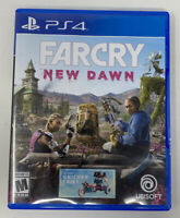 Far Cry: New Dawn (Sony Playstation 4, 2019) Tested Working PS4 Ubisoft