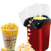 Automatic Electric Popcorn Maker Popper Machine 1200W Children Health Household