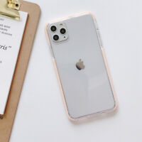 For iPhone 11 XR 11 Pro Max XS Max Cute Clear Rubber Protective Phone Case Cover