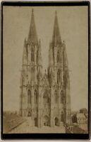 Germania Cattedrale Da Colonia Foto Th. Creifelds P15Ln61 Vintage Albumina