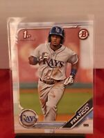WANDER FRANCO 2019 1st Bowman Prospects Rays Rookie Card RC 💎🚀💎