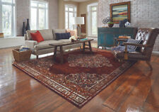 Living Room Traditional Burgundy Area Rug Oriental Decorative Carpets Large Rugs