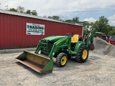 New listing 2007 John Deere 3320 4x4 Hydro 32Hp Compact Tractor Loader Backhoe Only 600Hrs!