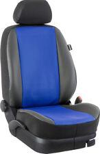 VW Sharan ab 2010 Maß Sitzbezüge Rücksitzbezug 2. Reihe: Kunstleder/blau/schw