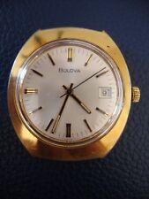 BULOVA 11 AOCD MOVEMENT 17 JEWELS MEN'S Watch no bracelet RUNNING KEEPS TIME N3