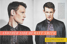 Matt Smith 2 page Entertainment Weekly Magazine Article/Clipping Nov 11, 2016