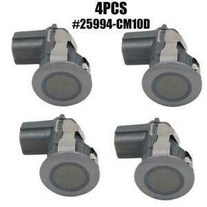 4PCS 25994-CM13E Rear Backup Parking Sensor For Infiniti G37 EX35 QX56 Nissan