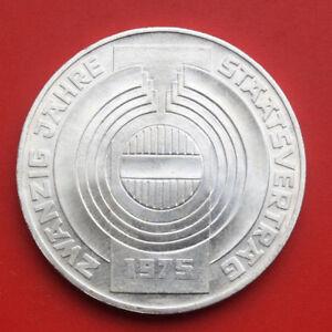 Austria Österreich 100 Schilling 1975 Silber St-BU #F1672 KM# 2924
