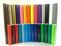 GLOSS Self Adhesive Vinyl Sticky Back Plastic Sign Making Vinyl Coloured