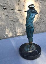 """Tom Bennett Sculpture """"Tee Time"""" w/COA"""