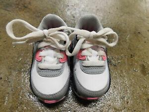 Retro Nike Air Max 90 TD Recraft Rose Pink sz 4 baby girl cd6868 104 jordan EUC