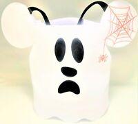 Disney Parks Halloween Mickey Mouse Ghost Trick or Treat Bag Disneyland