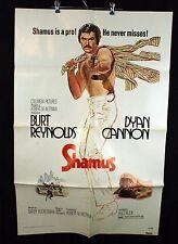 "Shamus Original 1972 Theater Movie Poster 27"" x 41""  Burt Reynolds"