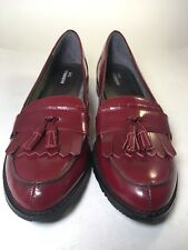 Women's Ros Hommerson Darby Tassel Loafer Size 8.5SS Pre-owned