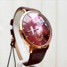 Nuevo Reloj de Superdry en cuero marrón Correa Reloj para hombre RRP £ 79, Regalo Ideal Para él!