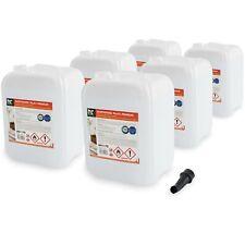 60 Liter (6 x 10 L) Bioethanol Premium 96,6% Bio Alkohol für Ethanol Kamin