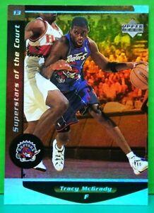 Tracy McGrady insert card Superstars Of The Court 1998-99 Ovation #C13