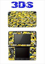 VINYL SKIN STICKER FOR NINTENDO 3DS REF 195 DESPICABLE ME MIGNONS