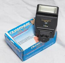 Quantaray QA-25 Flash Unit Complete w/ Box tthc