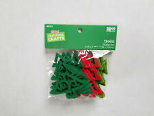 """Brother Sister Design Studio Christmas Craft Trees Pkg of 12 Sealed 2.75 x 2.88"""""""