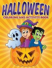 Halloween Coloring and Activity Book by Uncle G (2015, Paperback)