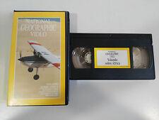 VOLANDO SOBRE AFRICA - VHS TAPE CINTA NATIONAL GEOGRAPHIC VIDEO