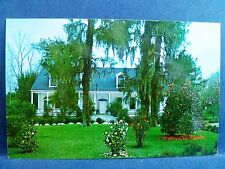 Postcard MS Natchez Mississippi The Briers Home