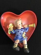 "Hummel Goebel Ornament ""Girl In Heart "" #180 Tmk6 Signed"