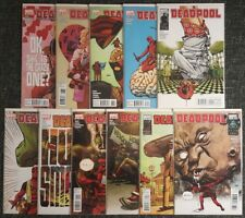 Deadpool Vol.3 #34,35,36,37,38,39,40,41,42,43,44 SET [Daniel Way] 9.0 or better