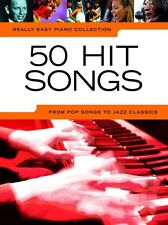 Really Easy 50 HIT SONGS Piano Songs STING MIKA Learn to Play Pop Music Book