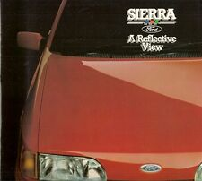 Ford Sierra 'A Reflective View' 1987 UK Market Brochure XR4x4 Sapphire Ghia