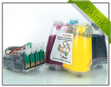 RIHAC InkLink PIGMENT CISS System for Epson Workforce 435 Cartridges 133 138 CIS