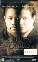 Analisi di un delitto (1998) VHS MFD - Tom Berenger