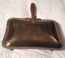 Ashtray Silent Butler Brass/Copper Tray Engraved Shield 'Major Ab Adversis' Claw