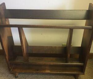 Mid Century Modern Danish Solid Wood Bookshelf ...PICKUP ONLY