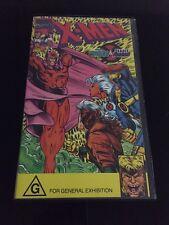 Marvel Comics X-Men Enter Magneto & Deadly Reunions VHSFormat
