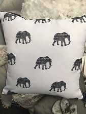 Outdoor ZAAB elephant print cushion cover