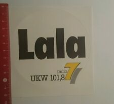 ADESIVI/Sticker: Lal radio 7 VHF 101,8 (19101643)