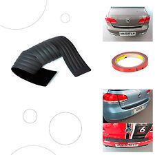 Auto protezione di gomma paraurti posteriore universale pero auto Nero.