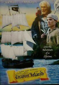 Treasure Island DVD 1999 Jack Palance Pirate Movie Patrick Bergen Rare REGION 1