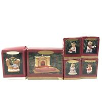 Hallmark Keepsake Ornaments The Bearingers and Tender Touches Welcome Sign