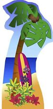 PALM TREE (BEACH PARTY) LIFESIZE CARDBOARD CUTOUT