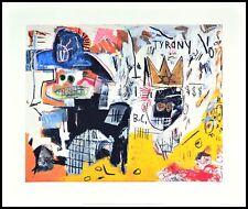 Jean Michel Basquiat sans titre tyrany Poster Art pression dans le cadre alu 40x50cm